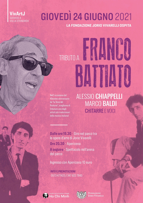 VivArtJ – Tributo a Franco Battiato