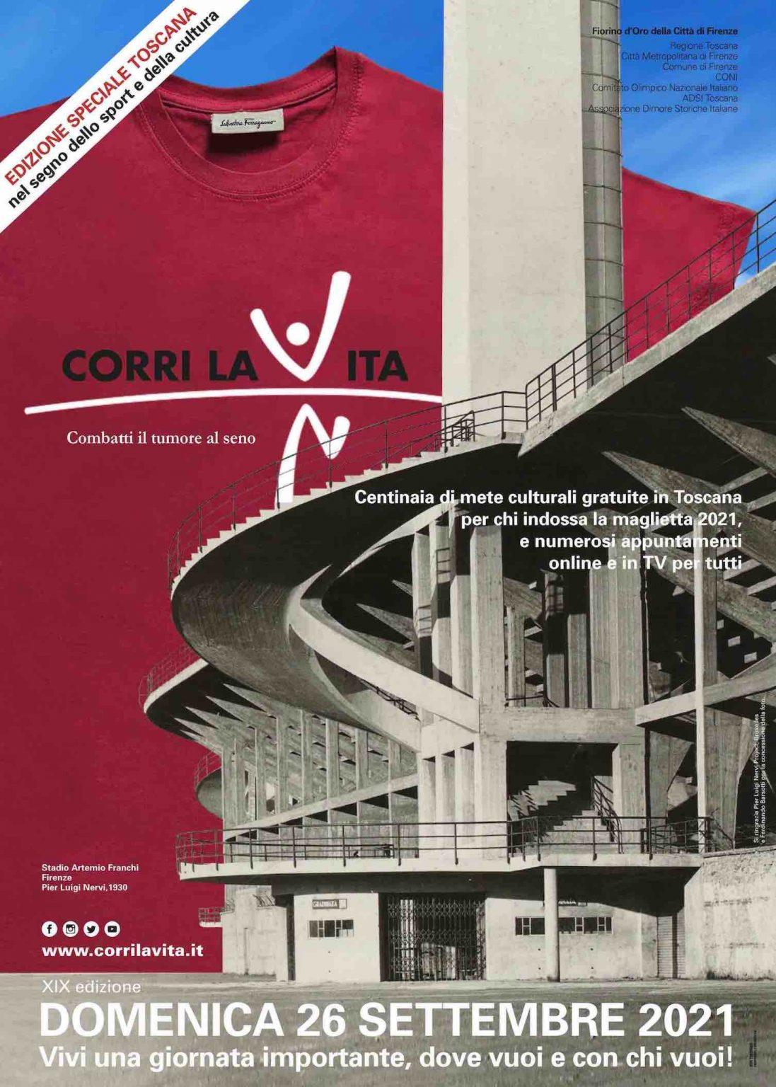 CORRI LA VITA Edizione Speciale Toscana